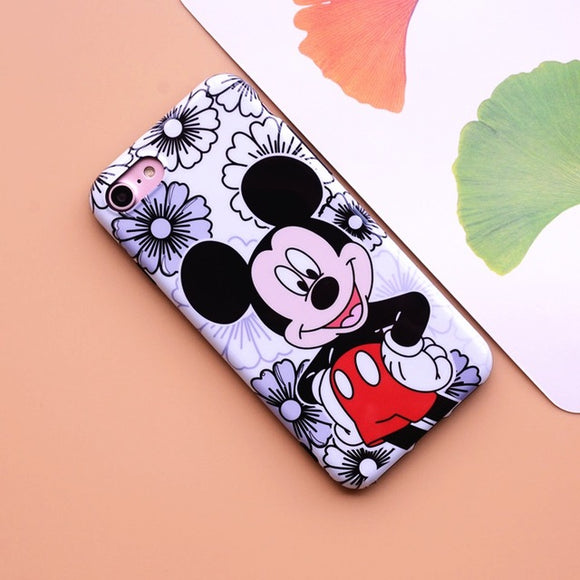 Flower Mickey Mouse Case
