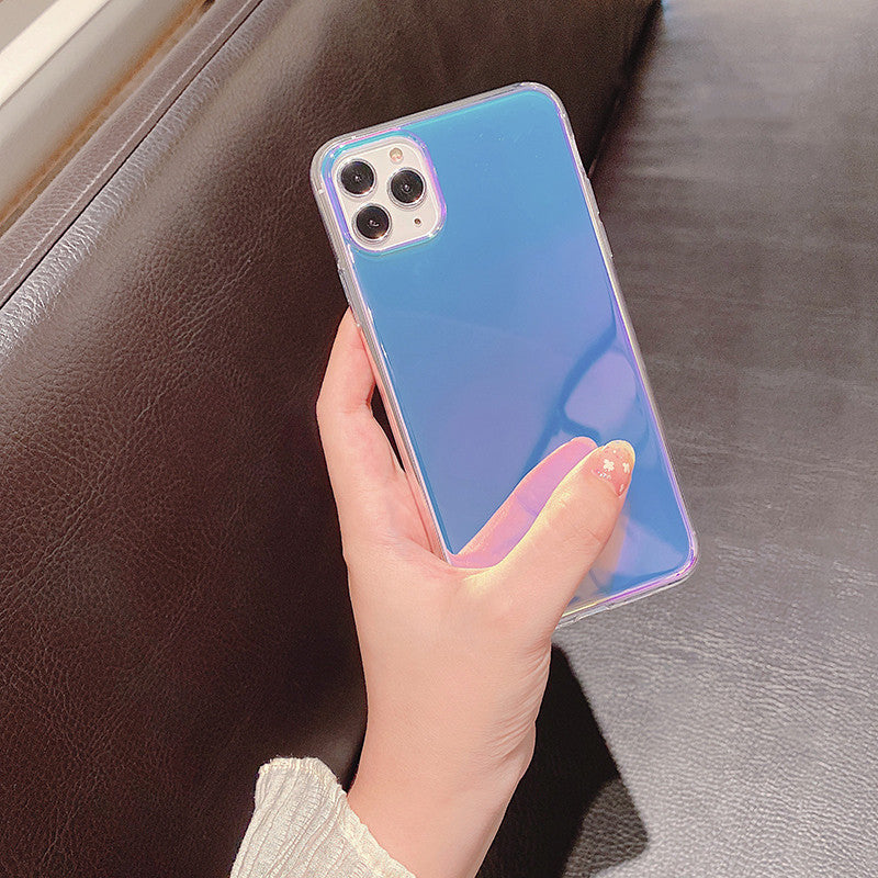 Laser Aurora Gradient Color Case