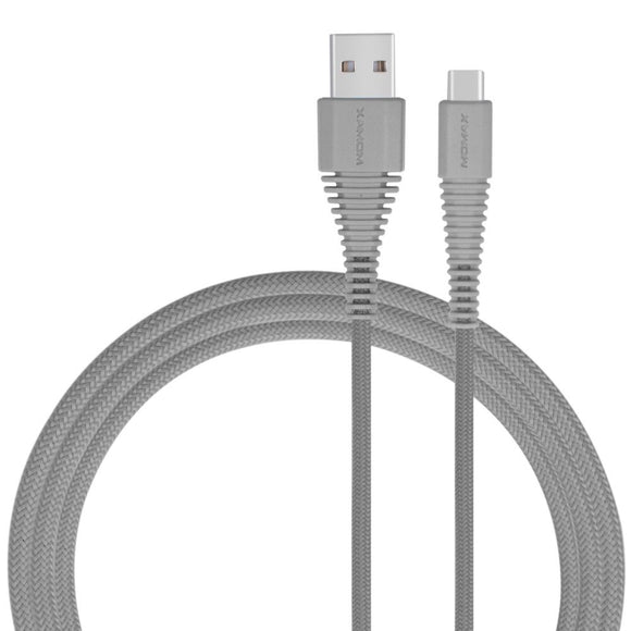MOMAX Tough Link Type-C Cable (1.2M) - Grey