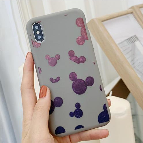 Grey Mickey Mouse Stars Case