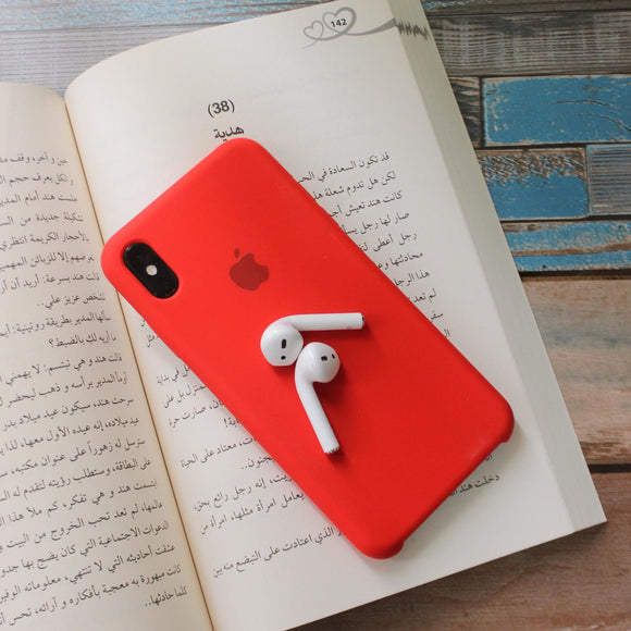 Red Silicon Case - احمر