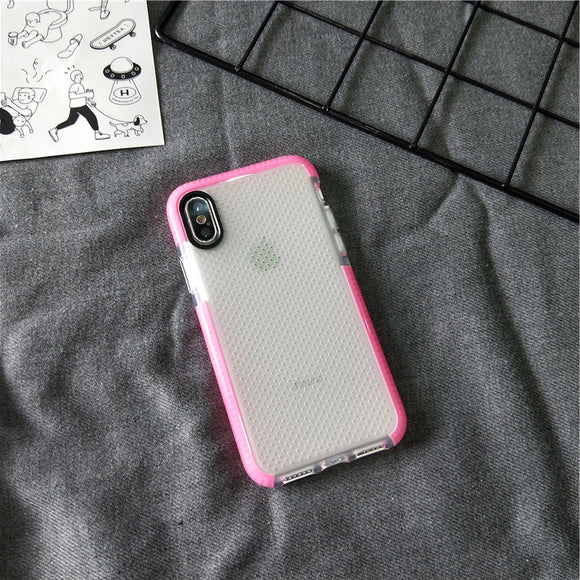 Pink Shock Proof Dot Side Case