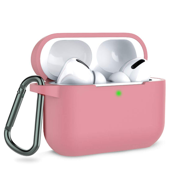 Apple AirPods Pro Silicon Protect Case - Pink