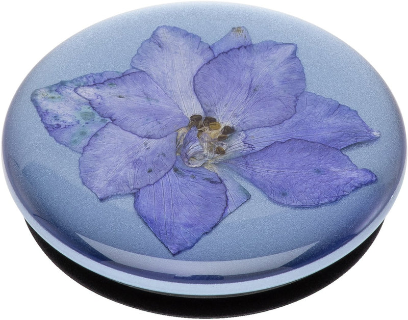 POPSOCKET - Pressed Flower Larkspur Purple - مسكة دائرية - بوب سوكت