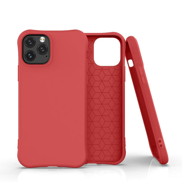 Red Simple Candy Soft Shell Phone Case