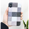 Square Grey Case with Ring