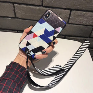 Many Colors Case with Lanyard - كفر مع خيط علاقة