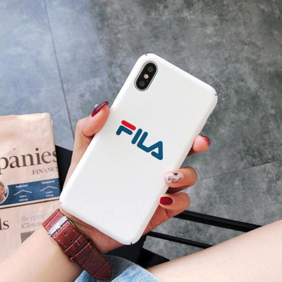 White FILA Case