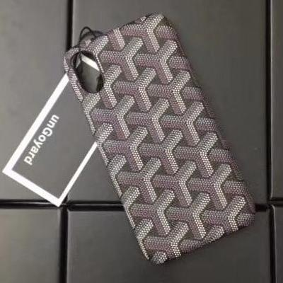 GOYARD Case - Grey Brown