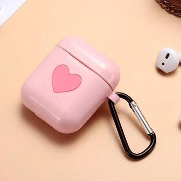 AirPod Heart Case - Pink - كفر ايربود