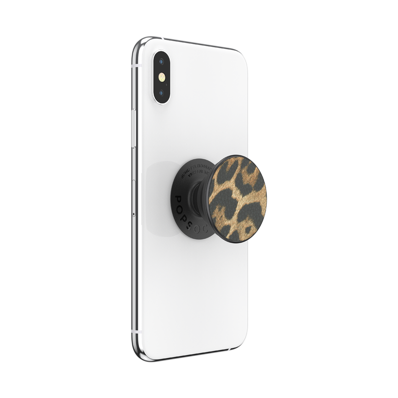 POPSOCKET - Vegan Leather Leopard - مسكة دائرية - بوب سوكت