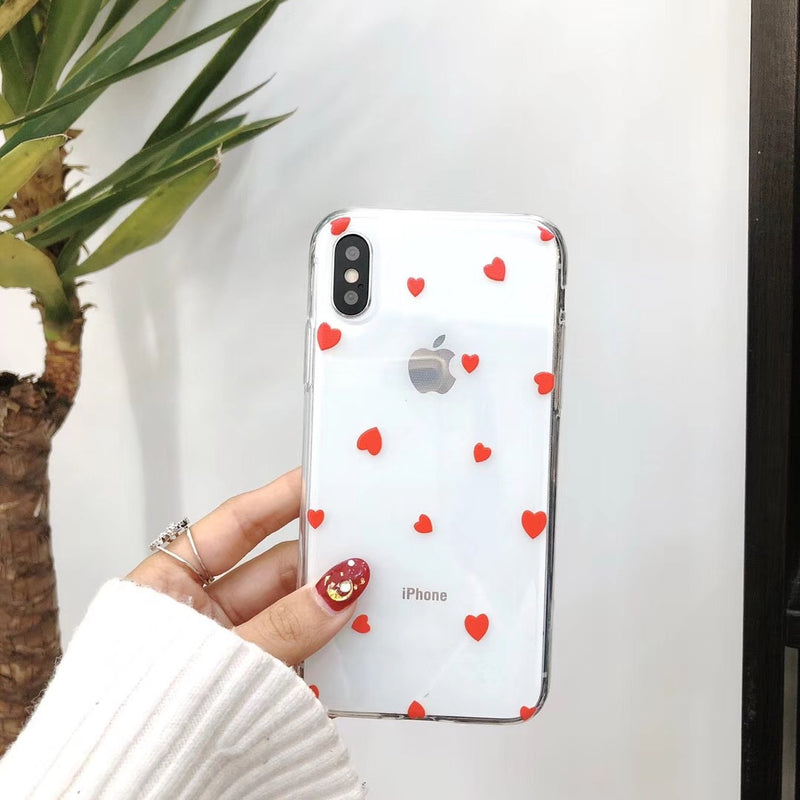 Red Small Heart Case