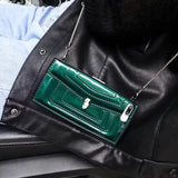 Green Wallet Leather Case