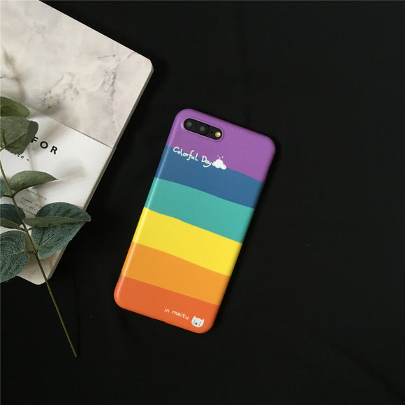 Colorful Day Stripes Case