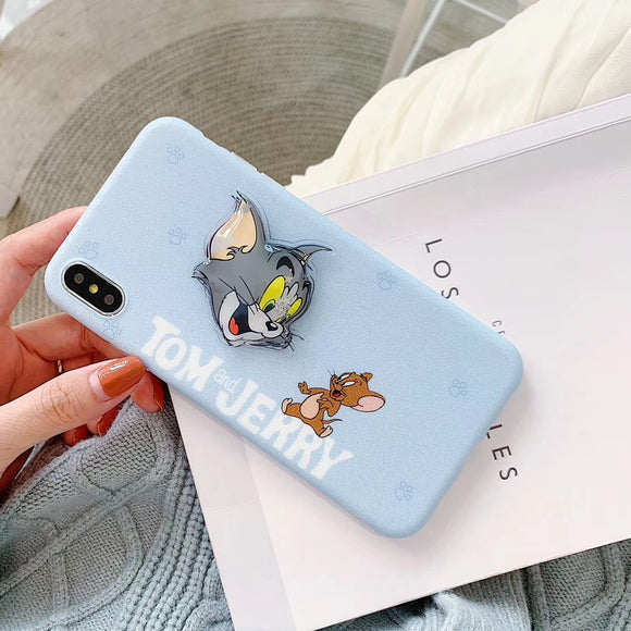 Blue Tom & Jerry Case