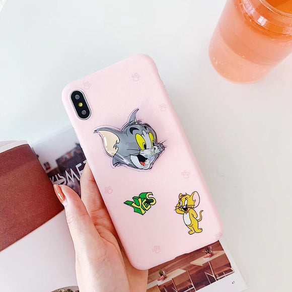 Pink Tom & Jerry Case