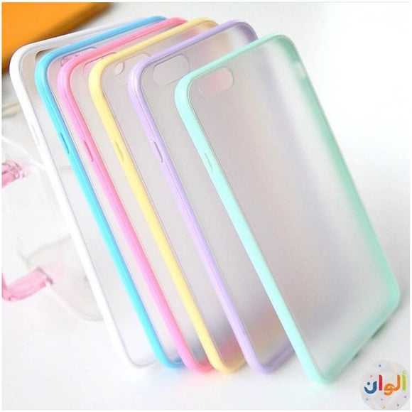 Clear TPU Case with Color Frame