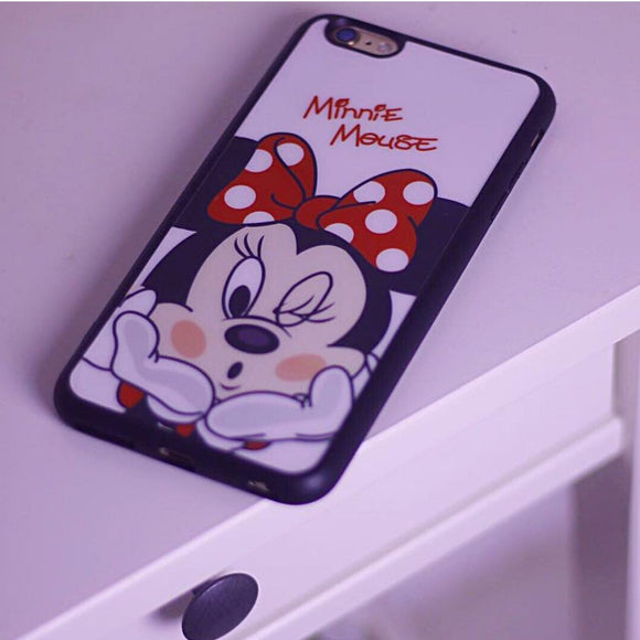 Red Minnie Mouse TPU