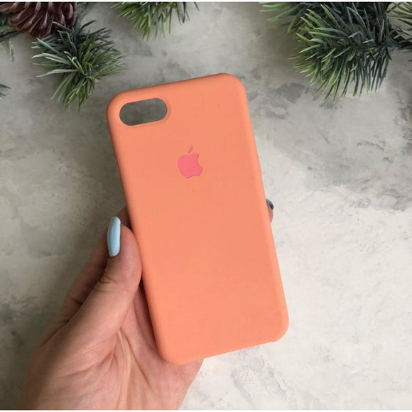 Light Orange Silicon Case - برتقالي فاتح