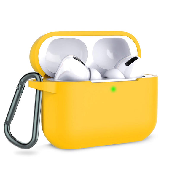 Apple AirPods Pro Silicon Protect Case - Yellow