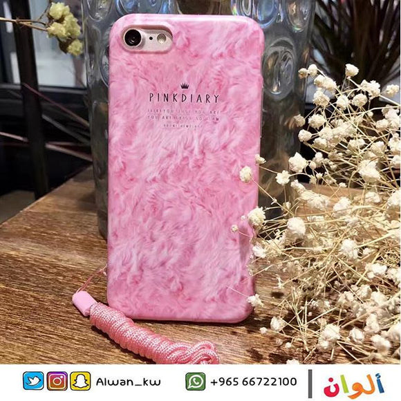 Pink Diary Case