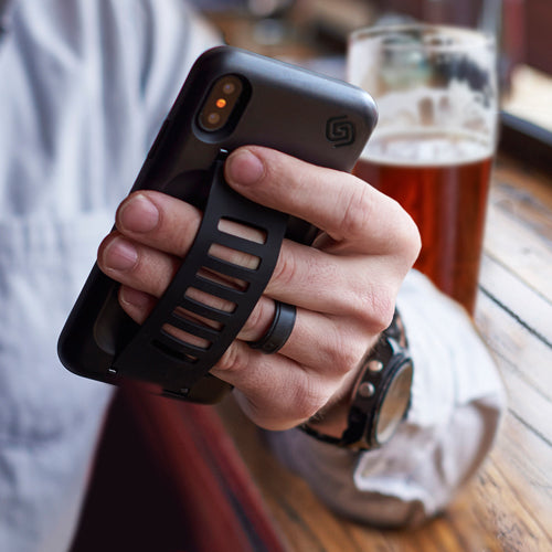 Grip2ü BOOST Case for iPhone X - (Black) - ايفون اكس - اسود