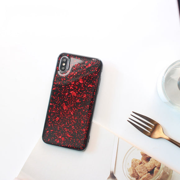 Red Glitter Oil Case