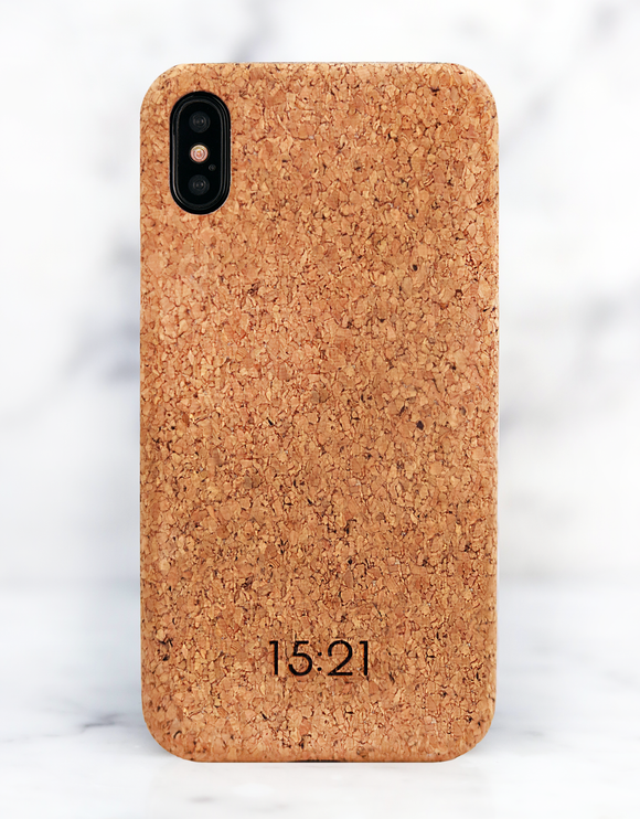 15:21 iPhone Cork Case - iPhone X/XS/Xr/XS MAX - كفر حماية عالية