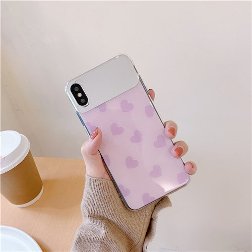 Pink Mirror Heart Case