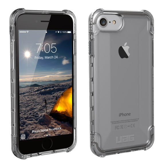 UAG - iPhone 8/7/6S Plus (5.5 Screen) Plyo Case-Ash-Retail Packaging