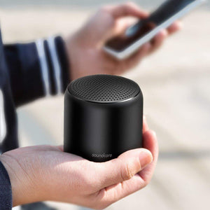 Anker SoundCore Mini2 Bluetooth Speaker - Black - [18 Month Warranty] - سماعة سبيكر صغيرة الحجم - اسود