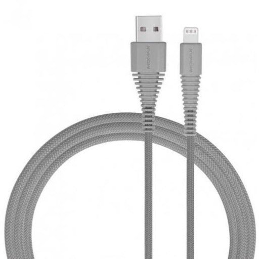 Momax ToughLink Lightning Cable (1.2m) - Grey