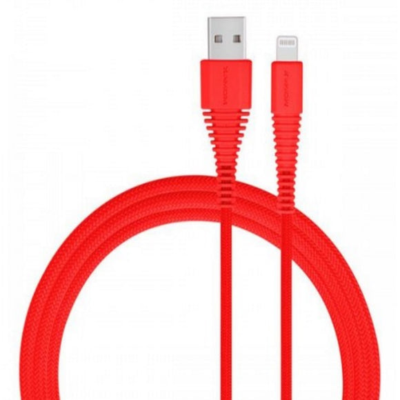 Momax ToughLink Lightning Cable (1.2m) - Red