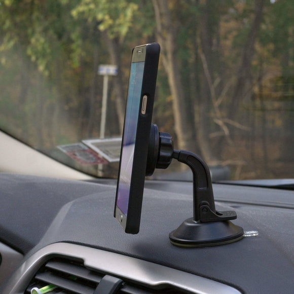 WizGear Magnetic Windshield And Dashboard Mount - Round - ستاند سيارة مغناطس - دائري