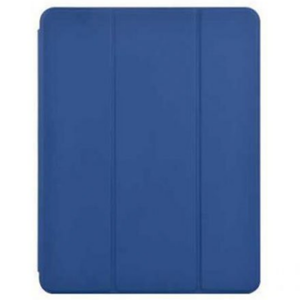 "Green Leather Case with Pencil Slot for iPad Pro 11"" - 2020 - Blue - كفر ايباد - حجم ايباد برو 11 - 2020 - مع مكان للقلم - ازرق"
