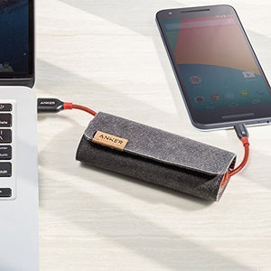 Anker PowerLine+ USB-C to USB 3.0 (0.9m) - Red - [18 Month Warranty] - كيبل شحن تايب سي - طول 90 سم