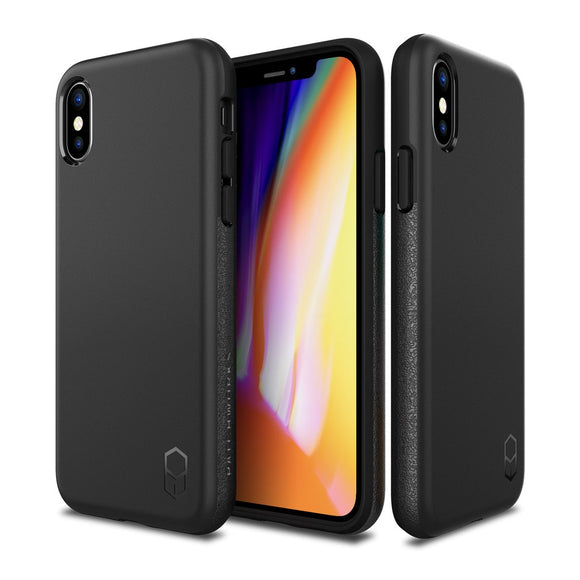 Patchworks LEVEL ITG Case For iPhone X - Black - اسود