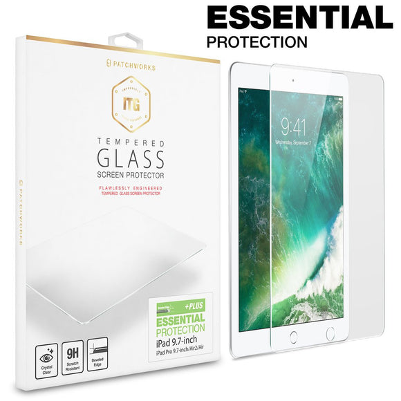 ITG Essential Glass Protection For IPad Pro 9.7 - حماية شاشة ايباد برو