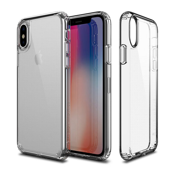 Patchworks Lumina Case For IPhone X Clear - Clear - كفر حماية شفاف