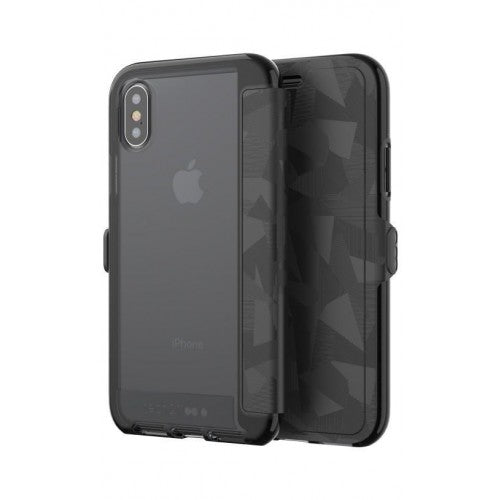 Tech21 Evo Wallet Case for Apple iPhone X - (Black)