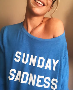 WILDFOX SUNDAY SADNESS LONG SLEEVE PULLOVER