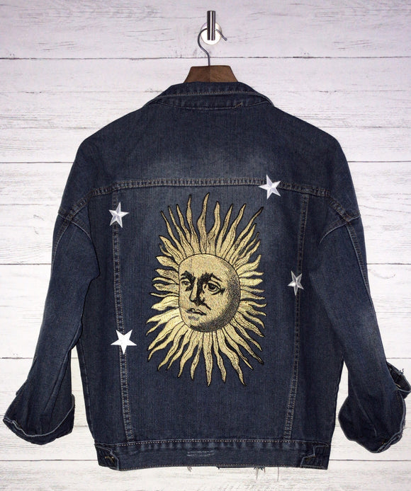 EXCLUSIVE GOLDEN SUN DENIM