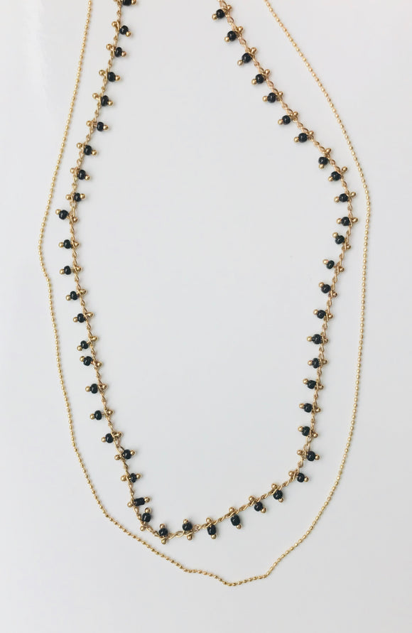 CLEMENTINE LAYERED NECKLACE