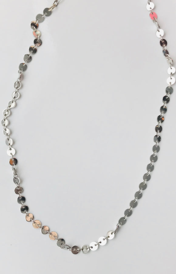 PANDORA CHOKER NECKLACE IN SILVER