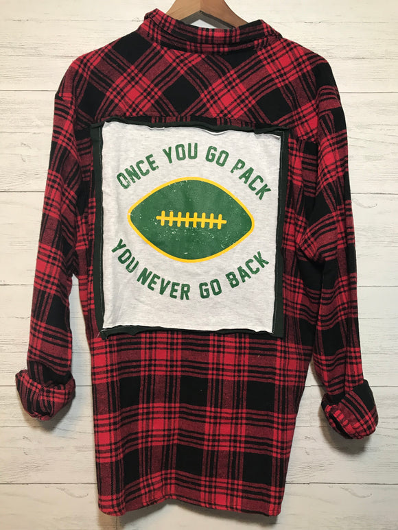 PACKERS CUSTOM FLANNEL