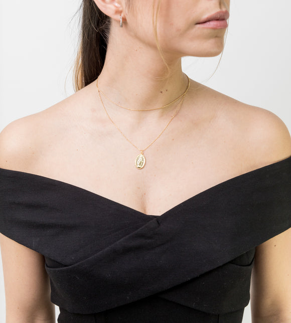 VALENTINA NECKLACE IN GOLD