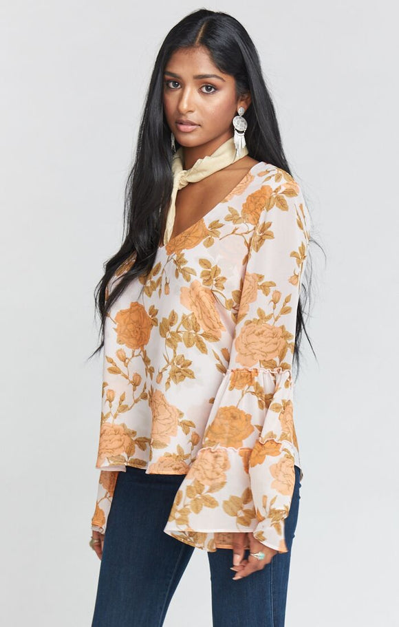 NICOLETTE DESERT ROSE TOP