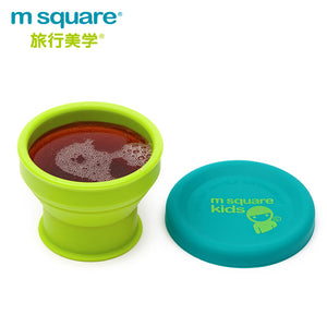M-Square Kids Folding Cup & Bowl