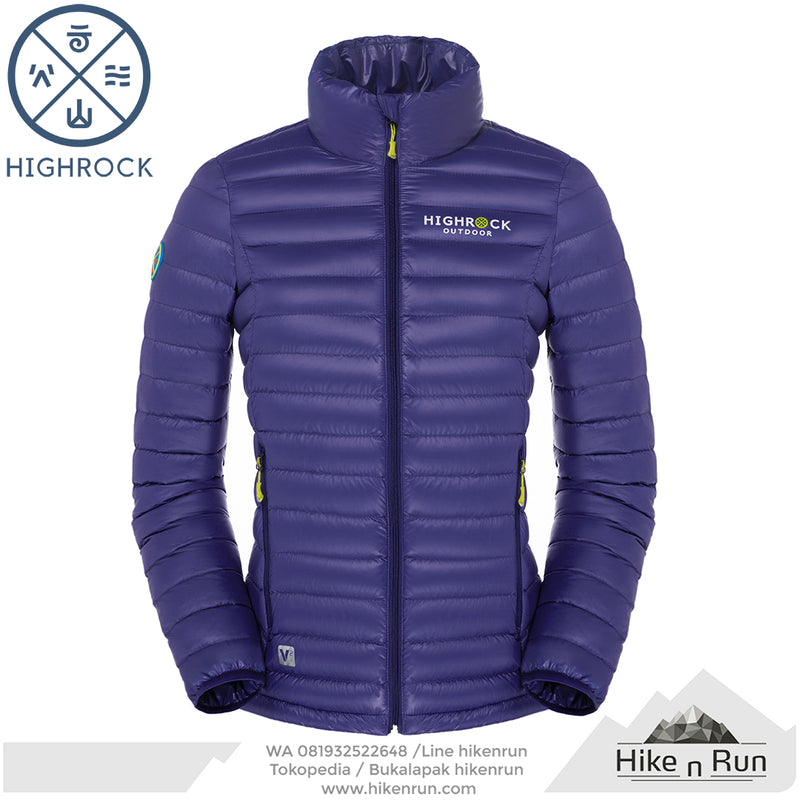 HR Jacket V10 Women Purple - Hike n Run