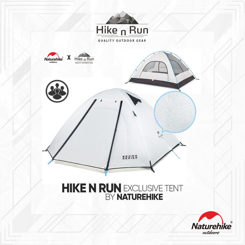 Tenda Naturehike 2018 4P-Series NH184P-BROMO